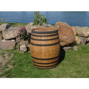 Weinfass aus Eichenholz (400l), hell gebeizt