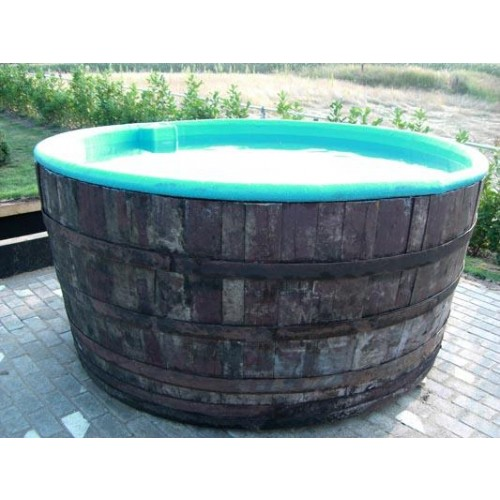 Whirlpool / Hot Tub BASIC aus Eichenholzfass, Polyester - Online ...