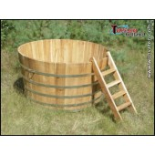 Hot Tub / Whirlpool BASIC aus Acasiaholz (180 cm)