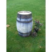 Weinfass aus Kastanienholz (60l), alt getrimmt