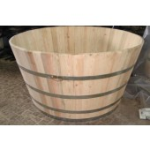 Hot Tub / Whirlpool BASIC aus Acasiaholz (200 cm)