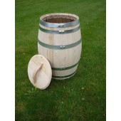 150 Liter Regenfass mit Deckel und Griff, Fabrikneu