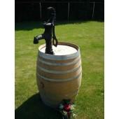 350 Liter Regenfass aus Eichenholz mit Pumpe