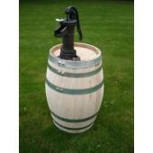 150 Liter Regenfass mit kl. Gusseisenpumpe, Fabrikneu